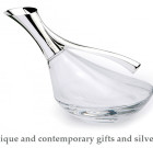 Antique and contemporary gifts and silverware