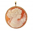 Contemporary 9ct Di Cara Cameo