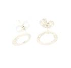 Martina Hamilton Silver Earrings