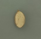 Vintage 9ct Gold Oval Locket