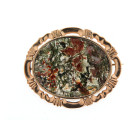 Antique 9ct Gold Agate Brooch